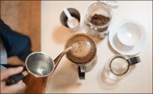 コーヒーの抽出方法とコーヒーの味わい方